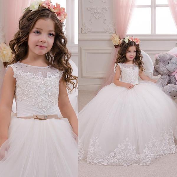 Flower Girl Ball Gown